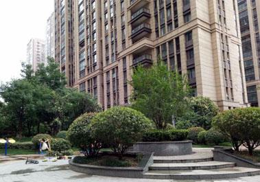 【大观国际居住区6号楼】平层住宅地暖采暖系统施工现场